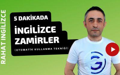 İngilizce Zamirler Gramer Konu Anlatımı Video Dersi